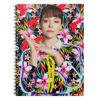 Orphan Black | Alison - Floral Pattern Notebook