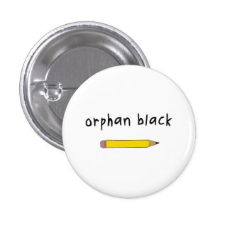 Orphan Black badge / button - Rachel Pencil