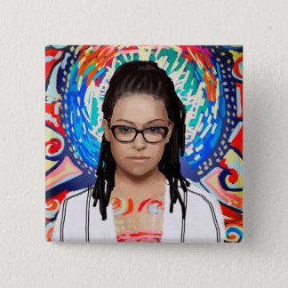 Orphan Black | Cosima Niehaus - Geek Chic 15 Cm Square Badge
