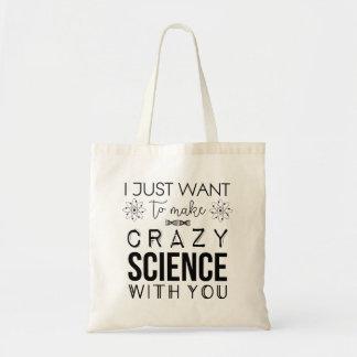 Orphan Black Crazy Science Tote Bag