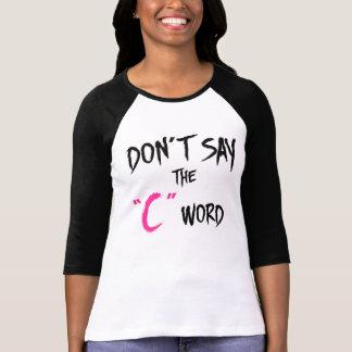 Orphan Black | Don't Say the C-Word T-Shirt