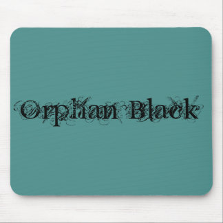 Orphan Black in chic script Mouse Pad