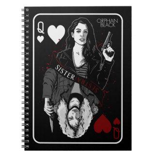 Orphan Black   Sarah & Helena - Sister/Sestra Notebook