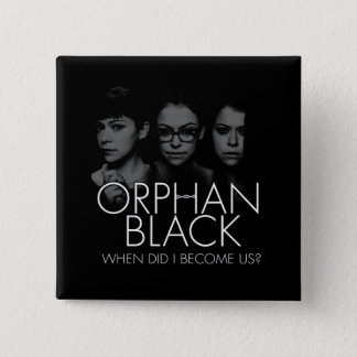 Orphan Black | Three Sestras Silhouette 15 Cm Square Badge