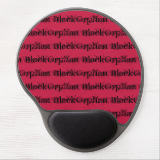 Orphan Black tv show distressed font fancy Gel Mouse Pad