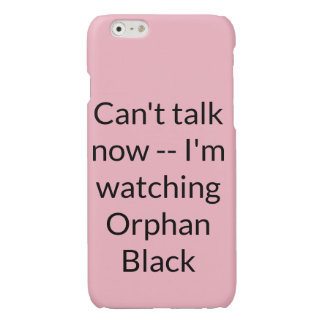 Orphan Black tv show fan can't talk now watching o
