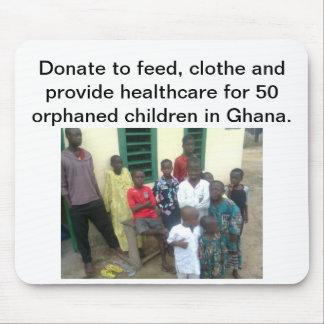 Orphaned Children in Ghana Mouse Pad