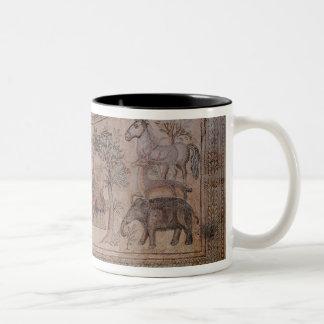 Orpheus charming the animals coffee mug