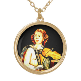 Orpheus Gold Plated Necklace