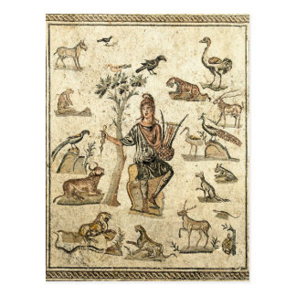 Orpheus With The Animals Postcard