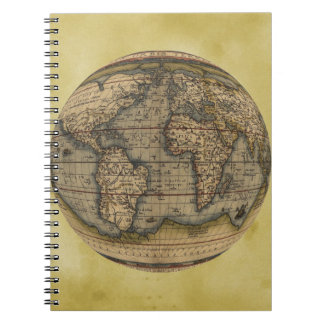 Ortelius world map notebooks