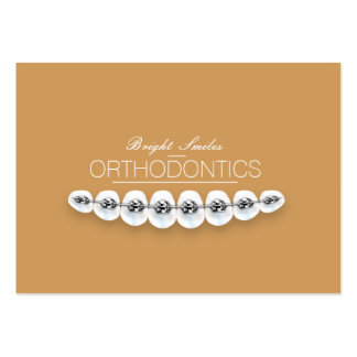Orthodontist Dentist Chubby Business Card