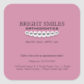 Orthodontist Orthodontics Business Promo Sticker