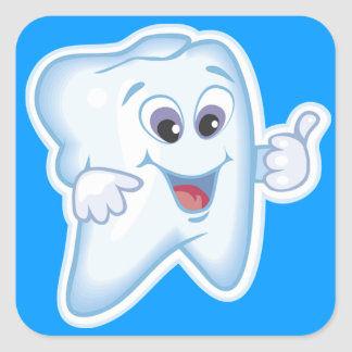 Orthodontist Orthodontics Orthodontry Square Sticker