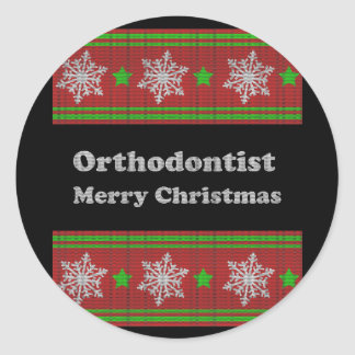 Orthodontist Round Sticker