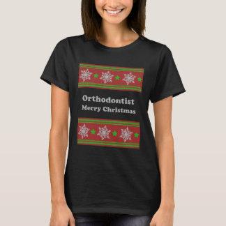 Orthodontist ulgy christmas T-Shirt