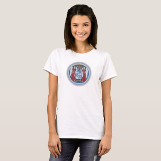 orthodox angels seal religion symbol stucco christ T-Shirt