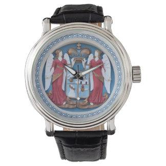 orthodox angels seal religion symbol stucco timiso watch