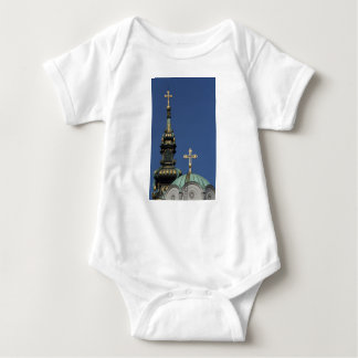 Orthodox Christian Church domes Baby Bodysuit