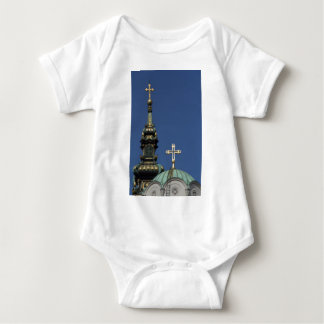 Orthodox Christian Church domes Baby Bodysuit