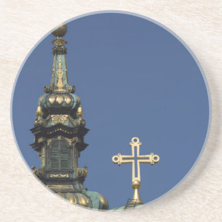 Orthodox Christian Church domes Coaster