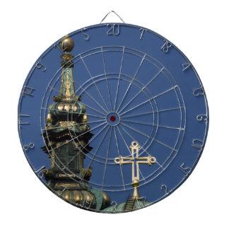 Orthodox Christian Church domes Dart Board