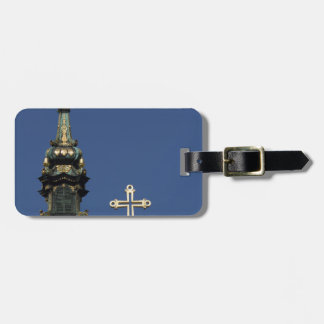 Orthodox Christian Church domes Luggage Tag