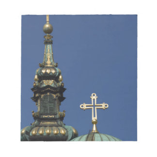 Orthodox Christian Church domes Notepad