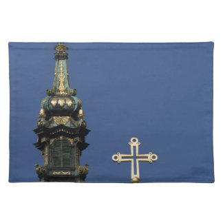 Orthodox Christian Church domes Placemat
