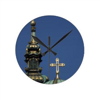 Orthodox Christian Church domes Wall Clocks