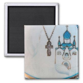 Orthodox Christian Icon Detail Magnet