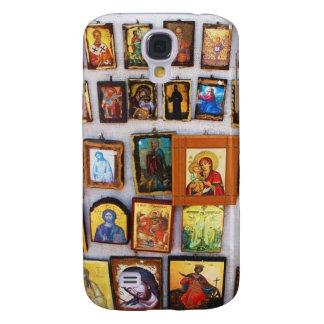 Orthodox, Christian, Icons, Byzantine, Greece Galaxy S4 Cover