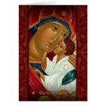 Orthodox Christmas greeting card - Christ Is Born!