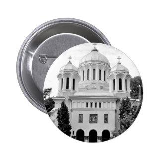 Orthodox church 6 cm round badge
