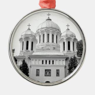 Orthodox church Silver-Colored round decoration