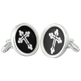 Orthodox cross cufflinks