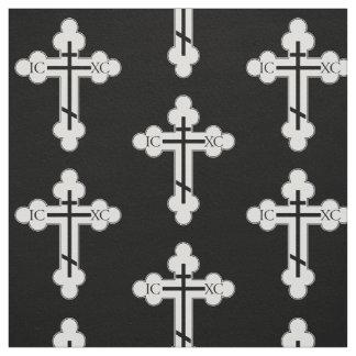 Orthodox cross fabric