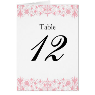 Orthodox Elegant Baptism Table Numbers