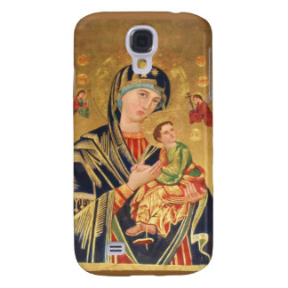 Orthodox ICON Serene Madonna Galaxy S4 Covers