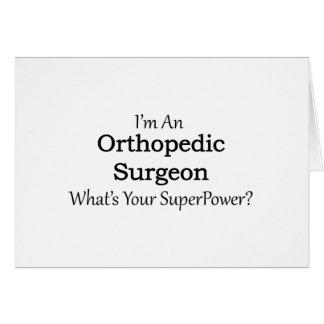 Orthopaedic Surgeon Card