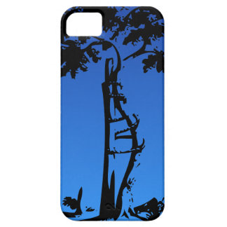 Orthopedic Crooked Tree on Lighter Gradient Barely There iPhone 5 Case