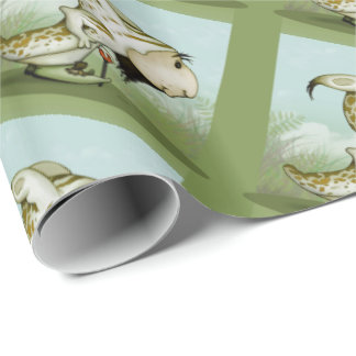 "ORTON ALIEN 30"" x 6'  CARTOON Wrapping Paper"