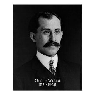"Orville Wright poster 16""x20"""