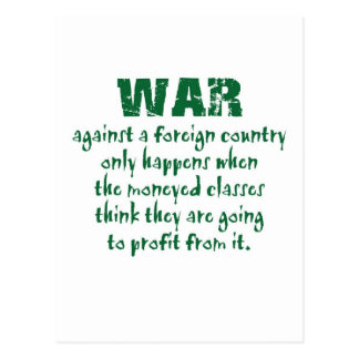 Orwell on War Postcard