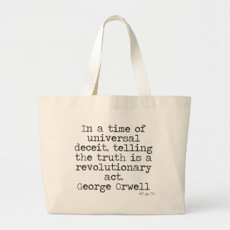 Orwell Truth Canvas Bag