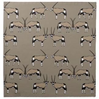 Oryx Antilope selection Napkin