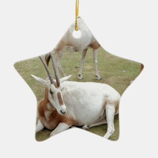 Oryx Ceramic Ornament