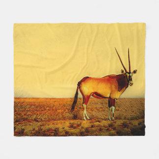 Oryx Fleece Blanket