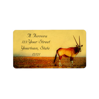 Oryx Label