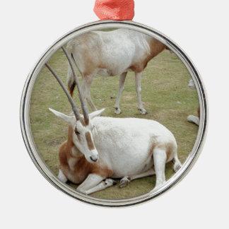 Oryx Metal Ornament